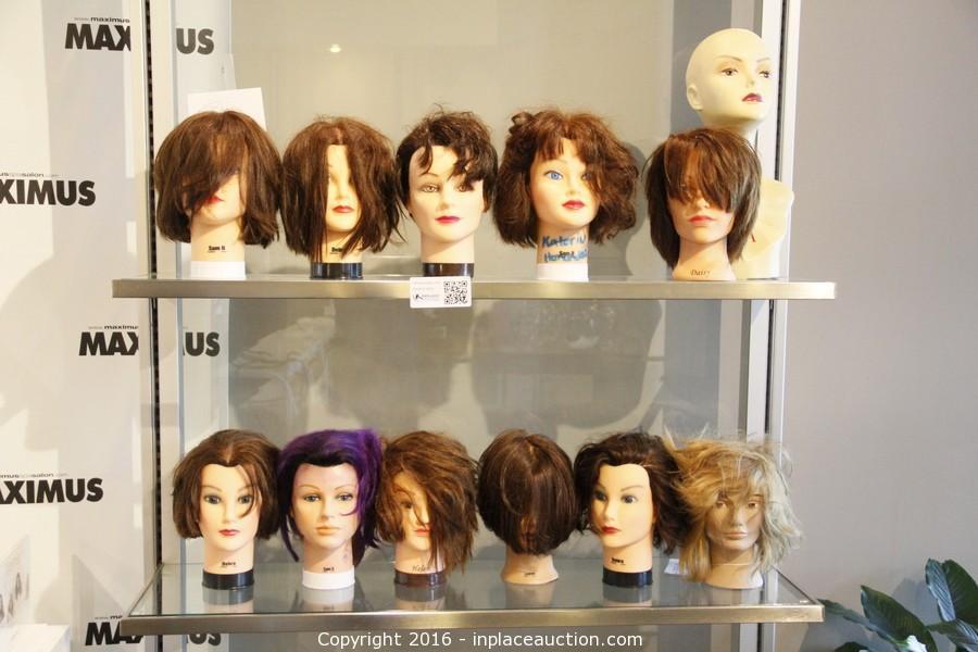 Inplace auction auction hair salon spa liquidation for Salon liquidation