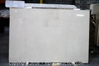 LOT OF (6) SLABS: NOVELDA OSCURO POLISHED, PORTO BEIGE HONED, ROCHE BELLE HONED