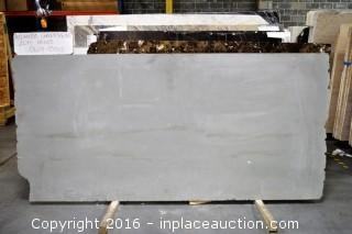 LOT OF (5) SLABS: ATLANTIC GREENSTONE HONED