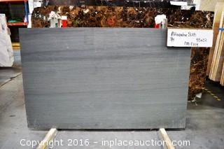 "LOT OF (2) SLABS: PIETRA CARDOSA DARK HONED, ALTERNATIVE SLAB 3/4""THICKNESS"