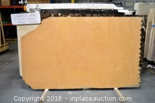 "LOT OF (5) SLABS: LIMESTONE SLAB 3/4"" THICKNESS"