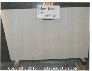 LOT OF (4) SLABS: COHARE HONED