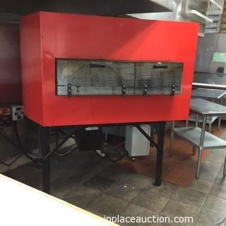 2014 Inferno Series 105 Wood/Gas Brick Oven