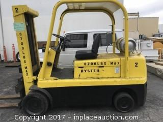 1997 Hyster S120XL2S Forklift