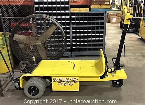InPlace Auction - Auction: 2016 DJ Products Trailer Caddy ITEM: 2016 DJ Products Trailer Caddy