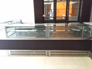 2014 Orion by Clabo Display Jewelry Style Food Display Case