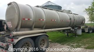2012 Polar ACX8 8400 Gallon Single Compartment Tank Trailer