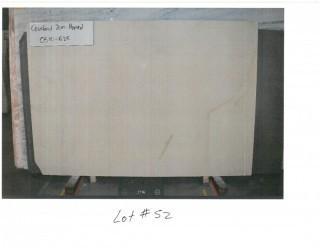 LOT OF (5) SLABS: COURTAUD HONED, NOVELDA CREME HONED