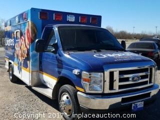 2015 Ford E-450 Ambulance