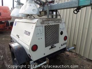 2007 Amida Al4000 Light Tower