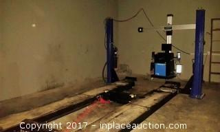 2014 Hofmann Four Post Alignment Lift