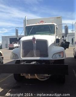 2012 Kenworth T470 Kuhn Knight 70110 Profeed