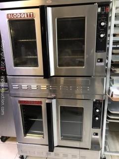 2014 Blodgett Double Oven ZEPH-100-G DOUBL