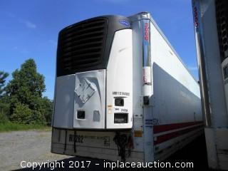 2004 Utility 53'x102 Reefer Trailer
