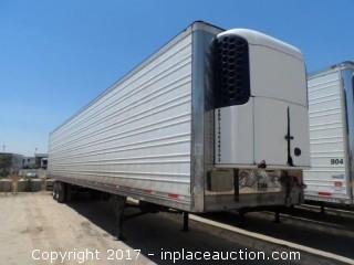 2006 Utility 3000R Reefer Trailer