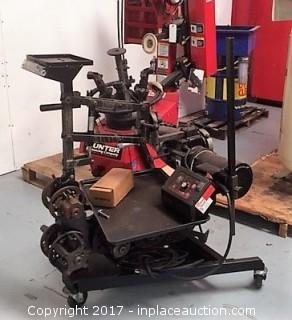 Hunter Quick Comp Pro On Car Brake Lathe