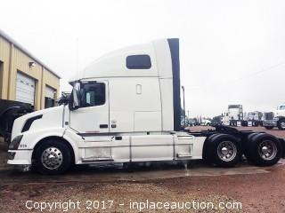 2012 Volvo VNL64T670 GREAT CONDITION! REPO'D AFTER 6 MONTHS STARTS RUNS! MUST SEE!