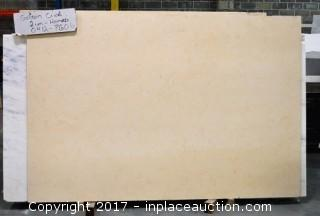 LOT OF 7 SLABS: (6) Golden Cream, (1) Golden Kosmus