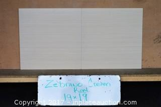 LOT OF 3 PALLETS: Zebrano Crema Rectified - 1081.08 Sq. Ft.