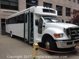 2011 Ford F650 Super Duty 36 Passenger Bus
