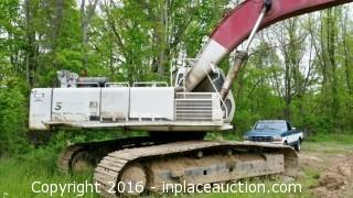 1998 Link Belt LS 5800 Excavator TRO 0503111