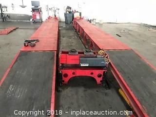 2015 Hunter RKHD Heavy Duty Truck and Bus Alignment Rack. MUST SELL!