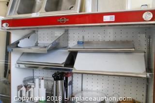 (4) Stainless Steel Shelves