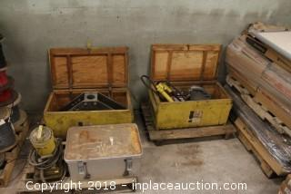 Rigid Pneumatic Bender Package on (2) Pallets