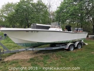 Mako 23' Boat With 5STARR Trailer