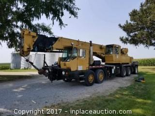 1988 Grove TMS 300B 40 Ton Hydraulic Truck Crane * STARTS RUNS & OPERATES * WELL MAINTAINED!