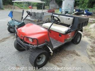 Jacobson Hauler Gas Operated 2 Passenger Golf Cart