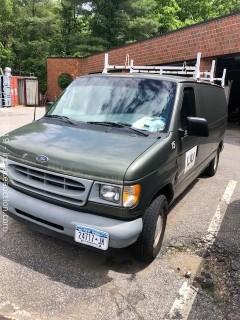 2002 Ford E150 Cargo Van